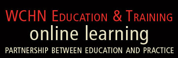 CYWHS Education and Training Online Learning. Partnership between education and practice.